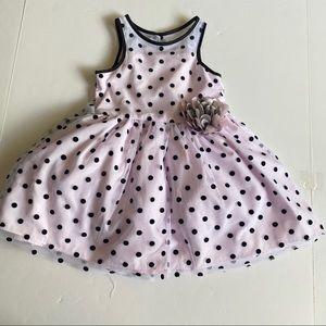 Marmellata Toddler Girls Dress 3T Pink Polka Dots